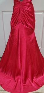 Pink prom dress our bridesmaids